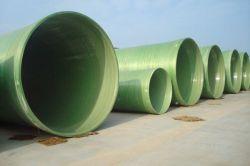 Los certificados ISO 9001 Tubo de plástico reforzado con fibra de GRP, accesorios