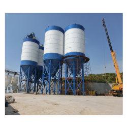 콘크리트 혼합 공장에 사용되는 500t 볼트 시멘트 사일로