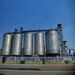 中国の熱い電流を通された穀物の記憶の鋼鉄サイロ