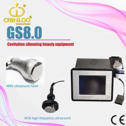 Redução de celulite Ultra-mini portátil com sistema de gordura de cavitação máquina de emagrecimento (GS8.0 Beleza)
