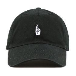 未構造化の野球帽の100%年の綿のあや織りのお父さんの帽子