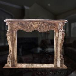 Mantas de lareira decorativa/lareira moderna estrutura/Lareira grades de ferro fundido