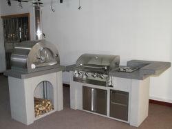 BBQ Gas Grill Kitchen van Outdoor van de luxe Eiland met CSA