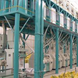 La farina stridente automatica del mais del cereale del frumento digrigna il macchinario del laminatoio di macinazione di farina del pasto