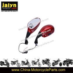 pièces de rechange de moto Moto rouge chinois miroir avec MP3 de 8 mm