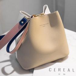 Caçamba de bolsas de couro PU Designer de bolsas de couro Lady Mala sacos de mãomala (WDL01298)