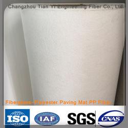 Tapete de Pavimentação Fiberglass-Polyester Fibra de PP de alta qualidade de Estrada