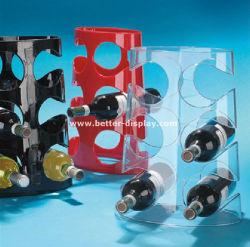 Commerce de gros Cabinet d'affichage de vin en acrylique