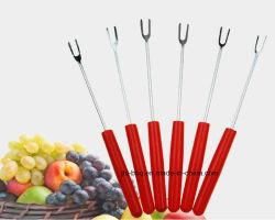 Bbq-Nahrungsmittelgabel-Frucht-Gabel-Käse-Gabel und Nachtisch-Gabel