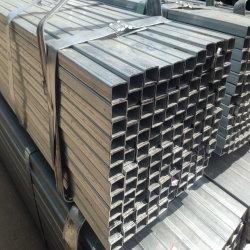 Tubo d'acciaio rettangolare quadrato saldato ricoperto zinco strutturale di Pregalvanized