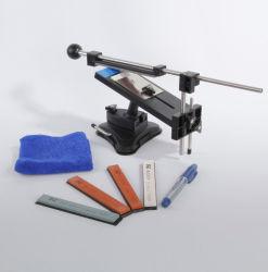 Upgrade Professional Küchenmesser Schärfsystem Fix-Winkel mit 4 Steinen Schärfsystem-Schärfmaschine