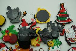 Comercio al por mayor imán de nevera de Navidad para niños