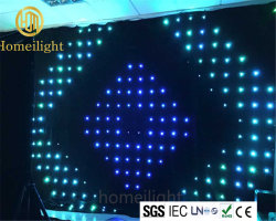 Illuminazione del panno della tenda LED di P18 RGB Vison