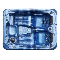Vasca calda acrilica blu della STAZIONE TERMALE/STAZIONE TERMALE della vasca calda 3persom di Kingston mini/mulinello per la stanza da bagno (JCS-27Blue)