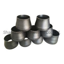 A ANSI preto em aço carbono uma234wpb redutor concêntrica do tubo sem costura Graxeiras