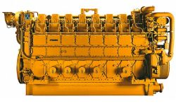 산업 힘을%s 3616 디젤 엔진 발전기 Caterpiller