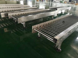 Hairise Stainless Steel 304 Automated Wheel Roller Conveyor