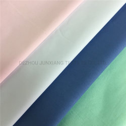 Camicia uniforme morbida Fabrictc65/35 45X45 133X72 110GSM Poplin tintura continua