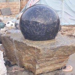 石造りのFengshui球の浮遊球水噴水
