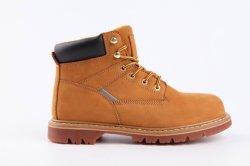 Estilo clásico botas de Ruibarbo con funciones integradas de calzado de seguridad de acero