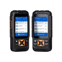 Inrico S100 Global Call 4G POC Radio for Android System NFC GPS Bluetooth Walkie Talkie を使用します