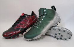 カスタマイズされたアメリカン・フットボールのサッカーは屋内泥炭のFutsalのスポーツの靴を起動する