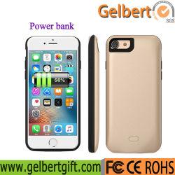 5200mAh de externe Bank van de Macht van het Geval van de Batterij van de Lader van het Pak van de Batterij Reserve Draagbare voor iPhone 7 plus