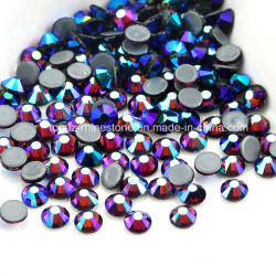 세계 돌 DMC 수정같은 최신 고침 모조 다이아몬드 의복 부속품