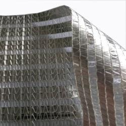 Алюминиевые жалюзи пластиковые Sun Shade Net для выбросов парниковых газов