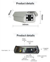 Reconnaissance automatique de la plaque de licence lpr caméra de sécurité du système de gestion de Parking Parking Caméra de vidéosurveillance intelligente du système de contrôle d'accès du système de parking
