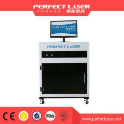 Gravação a laser 3D a máquina dentro do vidro para troféus em cristal gravura
