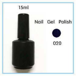 A cores de 15ml OEM 020 Laca Gel unha polonês embeber desligado