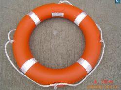 Het de Mariene Reddingsboei en Reddingsvest van het ponton