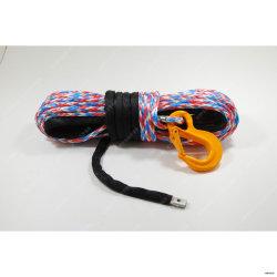 Архив цветной синтетический трос лебедки, ATV троса лебедки, буксировочный трос
