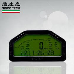 Fazer908 8 luzes LED com a função de indicador robotizada ecrã LCD de painel de bordo