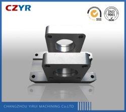 Parte de mecanizado CNC de aleación de aluminio /// parte de conexión que une el montaje
