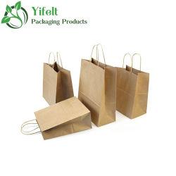Barato al por mayor bolsas de papel de Regalo de Cumpleaños Halloween presente Papel Kraft de embalaje
