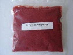 100% natura Strawberry purea / polpa / succo di alta qualità