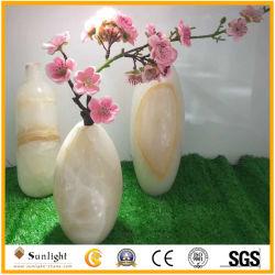 Il Onyx naturale su Polished Handcrafts il vaso di fiore nel prezzo poco costoso