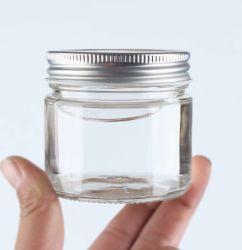 Frasco de vidrio de tubo recto Heat-Resistant Miel Nido de Pájaro Jar Jar de atasco de sellado al vacío de botellas de encurtidos caseros