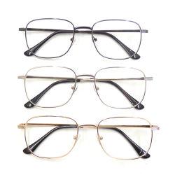 مصمم على الموضة العالية الترويج للرجال إطارات معدنية لامعة القراءة نظارات