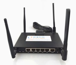 3G 4G sans fil RS485 RJ45 LAN du routeur WiFi avec emplacement pour carte SIM le soutien de routeur FDD/ATME/WCDMA/GPRS