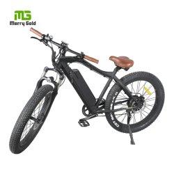48V 500W Motor Eléctrico para aluguer 26polegadas pneu gordura ciclo elétrico para o sexo masculino