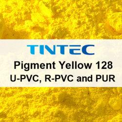 Le pigment Poudre jaune 128 pour le plastique