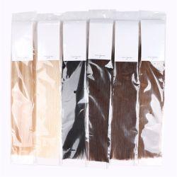 La cinta en la humana pone de relieve las Extensiones de Cabello Color Piano 40pcs 100g 100% de la máquina Remy piel Invisible trama directamente