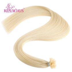 Верхний класс Реми волос кератин лак для ногтей волос Индии наконечника сопла