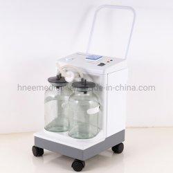 이동식 수술용 흡입기 흡입기 의료 이동식 전기 흡입 사용 병 용기 두 개를 기구