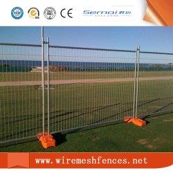 2.1*2.4M Standard soudure en acier galvanisé de gros de Wire Mesh clôture temporaire