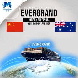 Service de livraison de la mer de Chine à l'Australie/Adelaide/Melbourne/Brisbane/Sydney/Fremantle