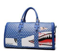PU Imprimer Les femmes Sac de Voyage Sac de sport d'impression de requin Fashion sac fourre-tout